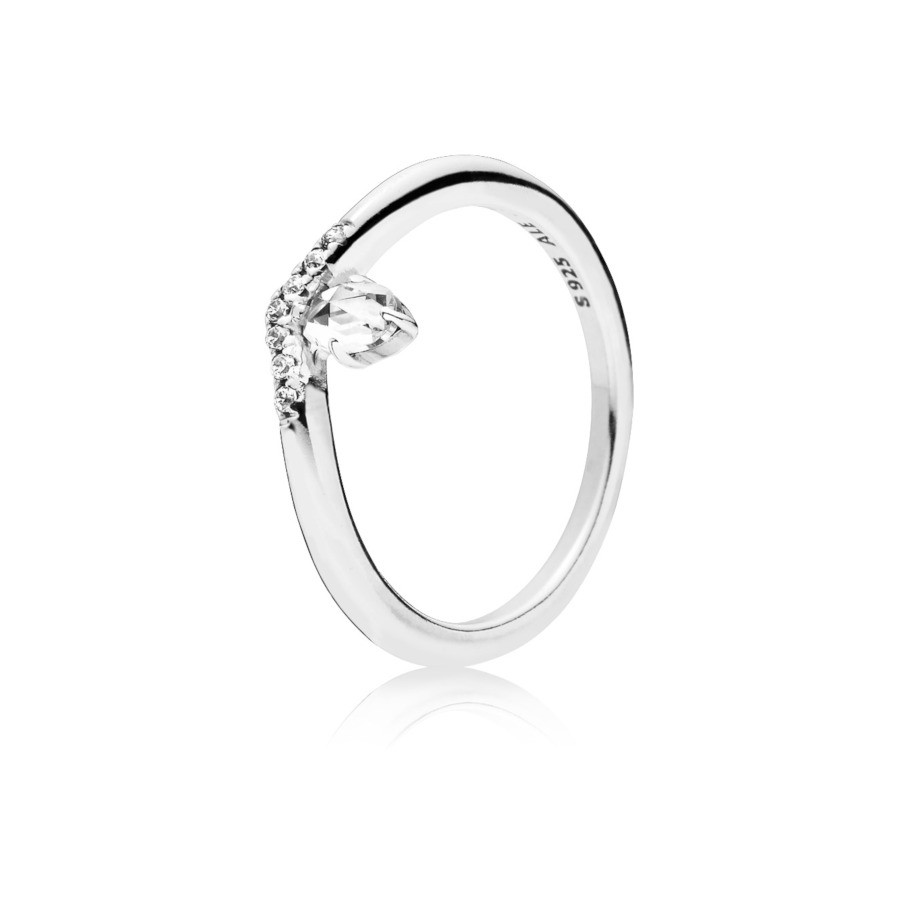 Pandora Stories 925 Sterling Zilveren Classic Wish Ring 197790CZ