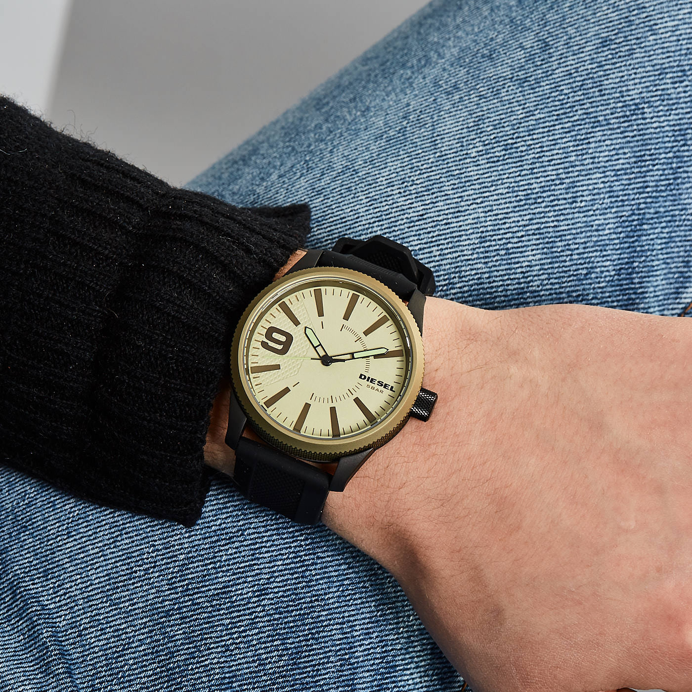 48cbc3af2a29 Diesel Rasp reloj DZ1875 - Relojes