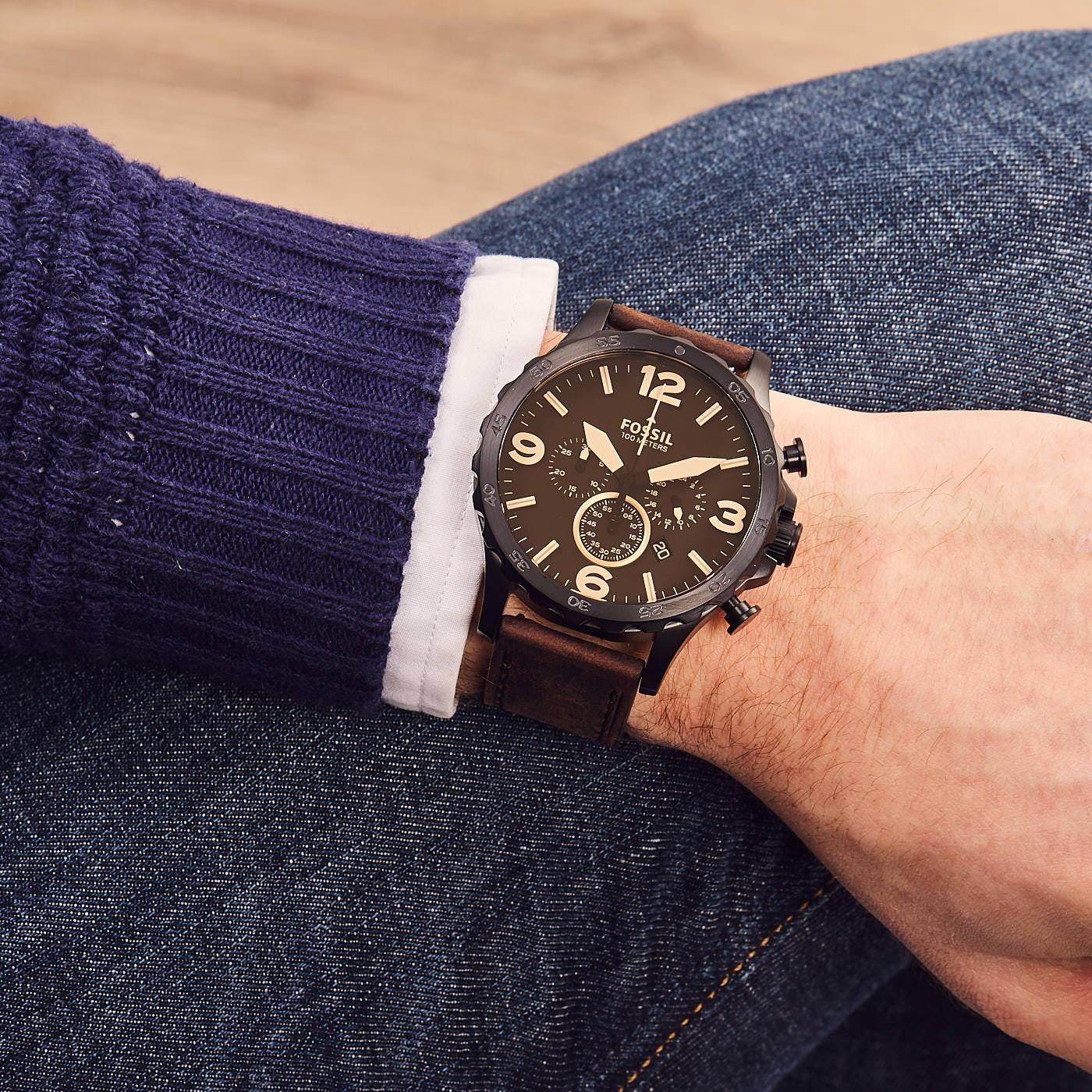 8441203a9db1 Fossil Nate reloj JR1487 - Relojes