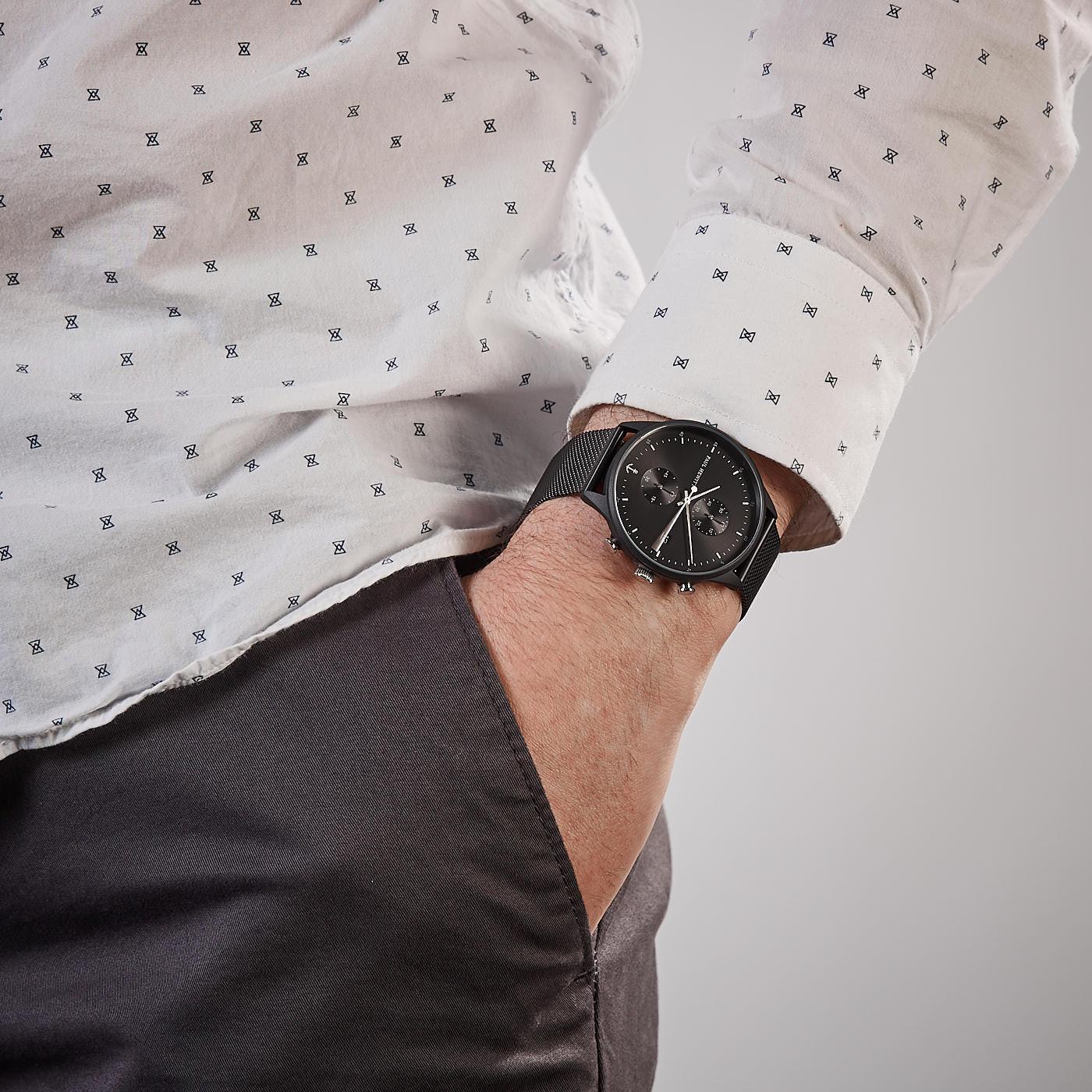 Paul Hewitt Chrono Line horloge PH-C-B-BSS-5M