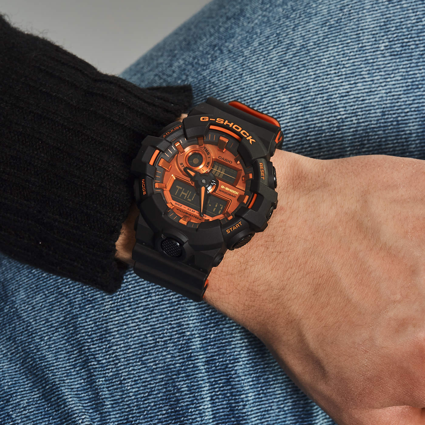 G-Shock horloge GA-700BR-1AER