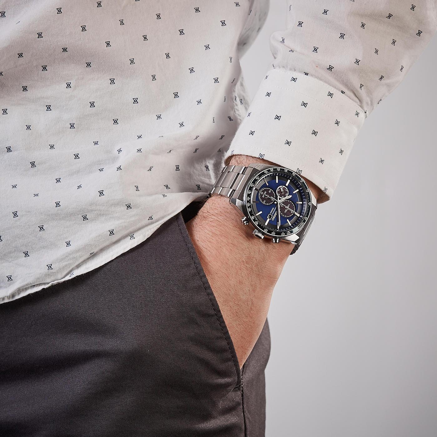 Seiko Solar Chrono horloge SSC719P1