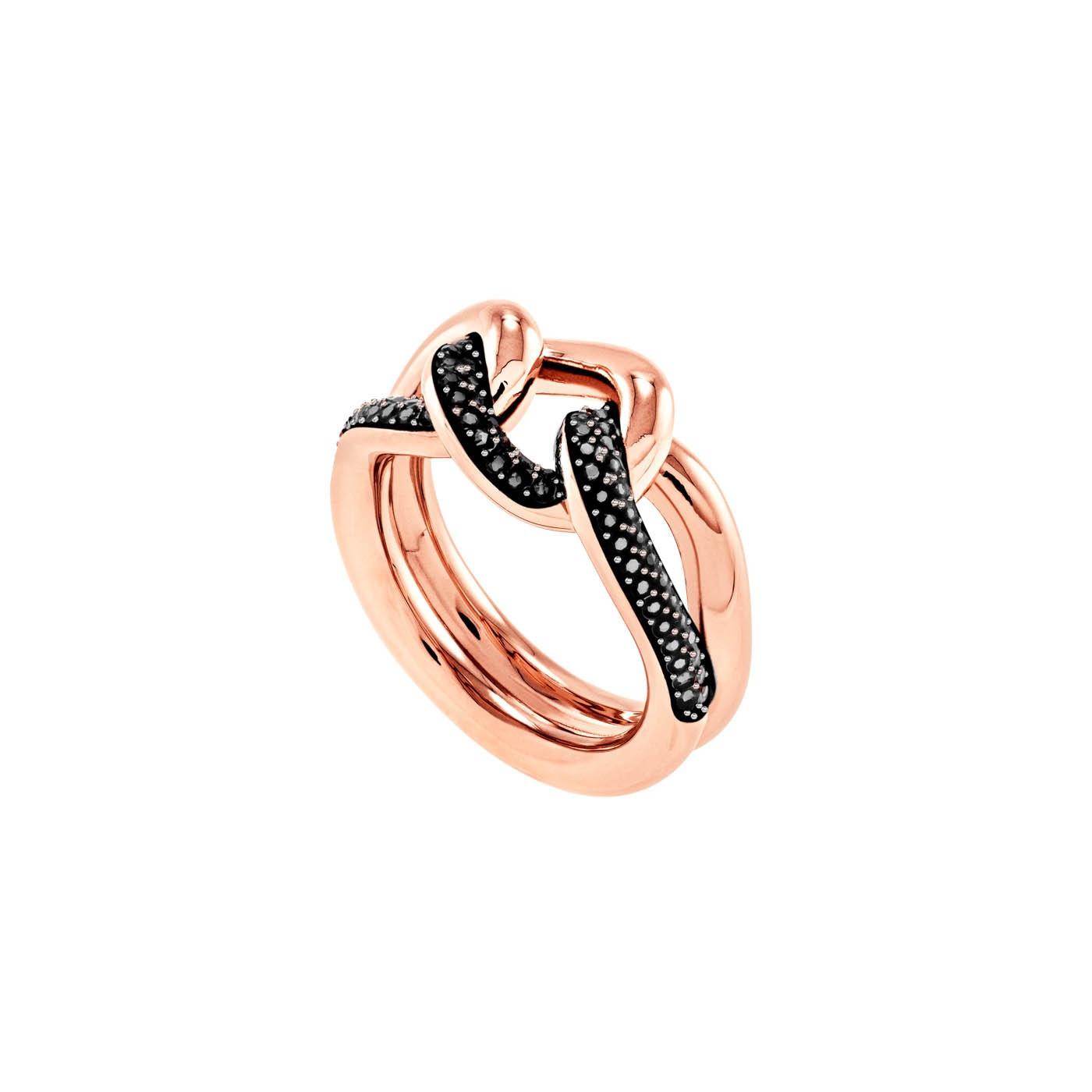 Swarovski Lane Hematite Ring