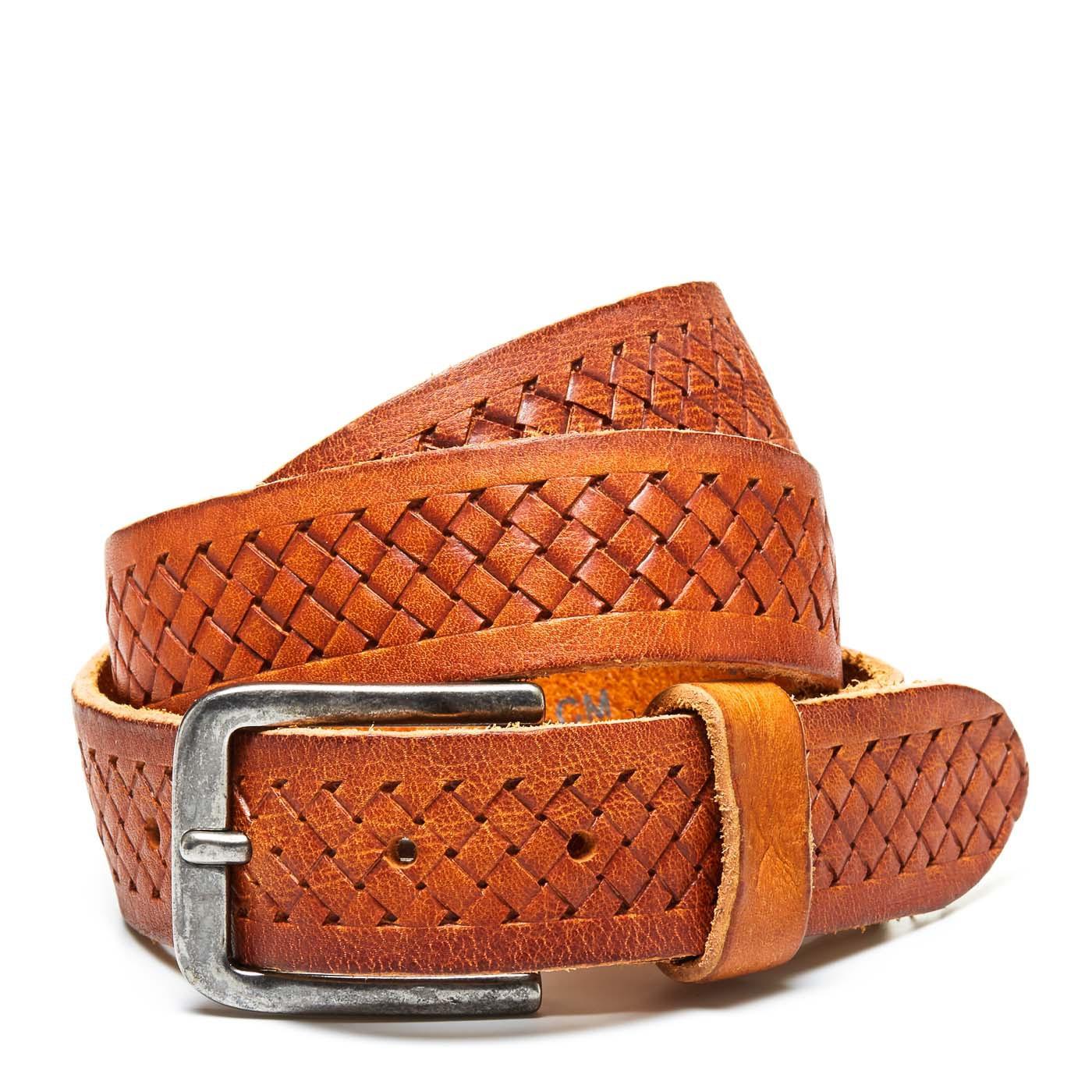 Cowboysbelt Cognac Unisex Riem 351001-000300