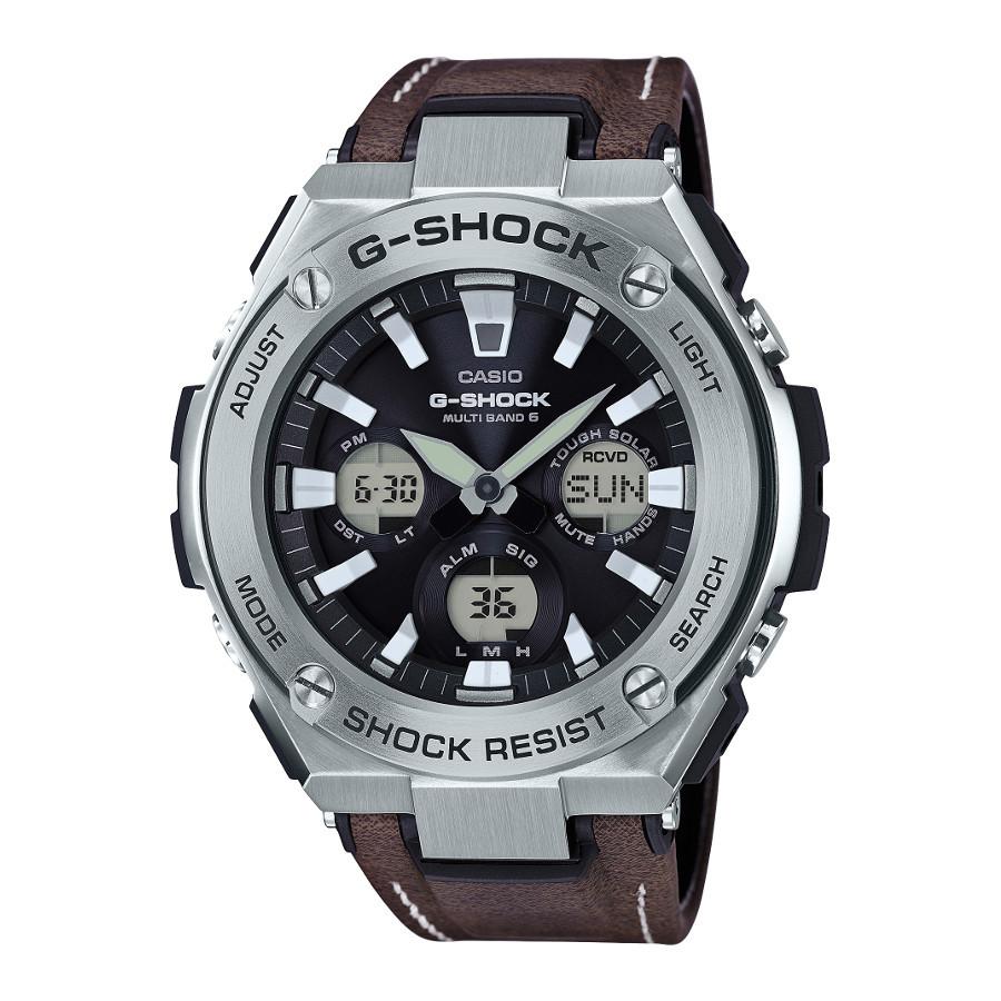 Casio G-Shock G-Steel Tough leather Horloge GST-W130L-1AER