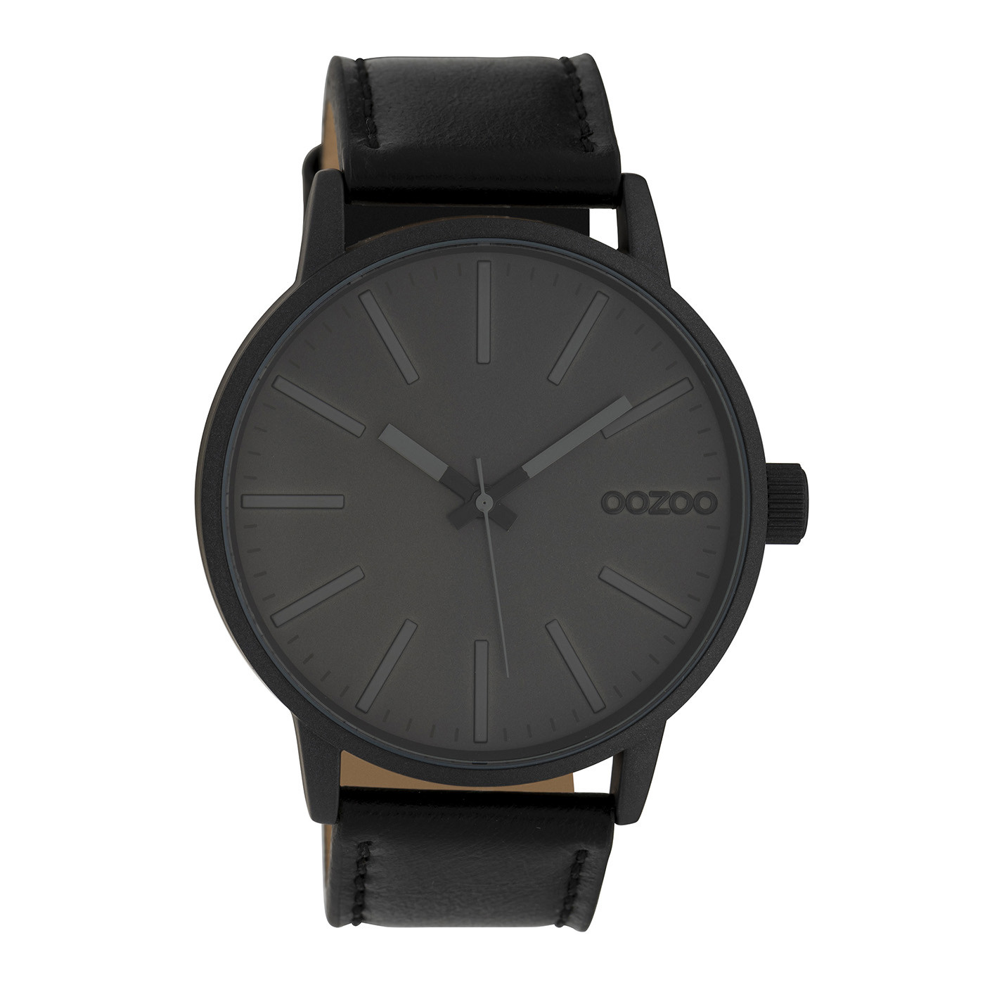 OOZOO Timepieces Zwart horloge C10014 (45 mm)