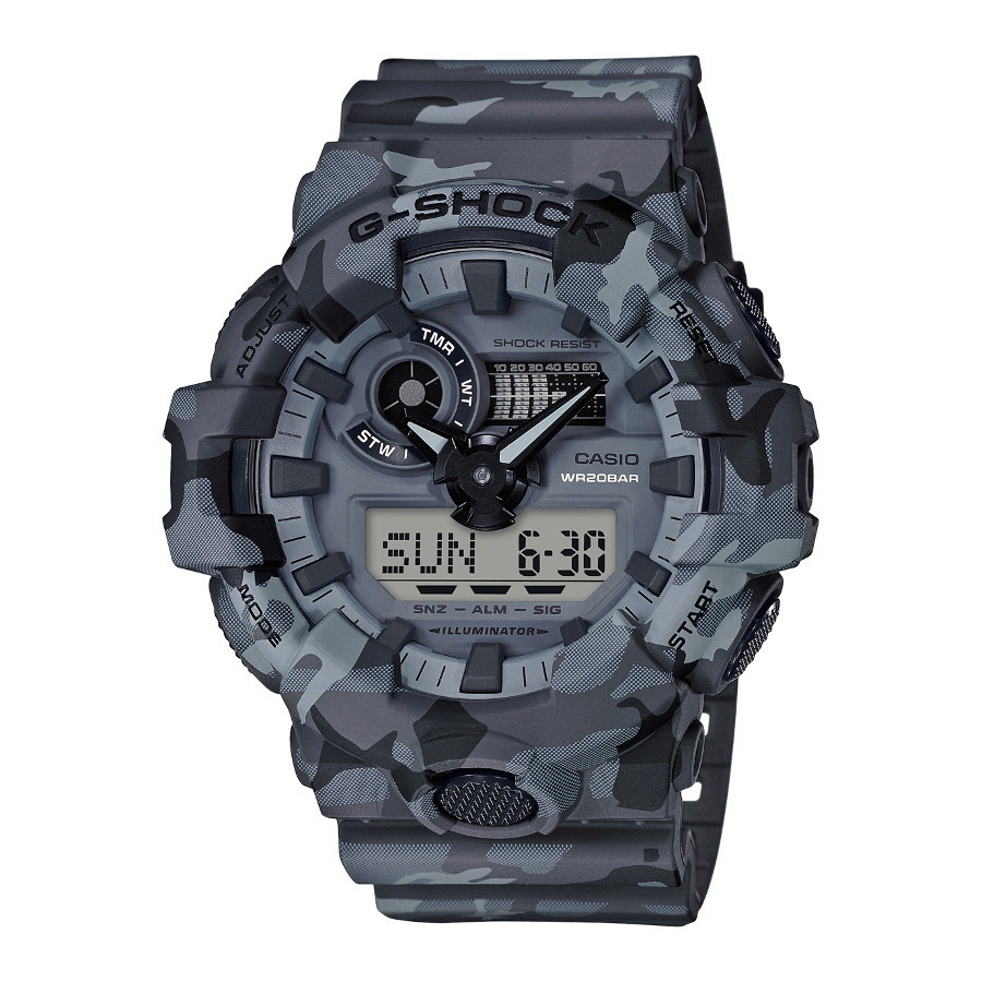 G-Shock Camouflage horloge GA-700CM-8AER