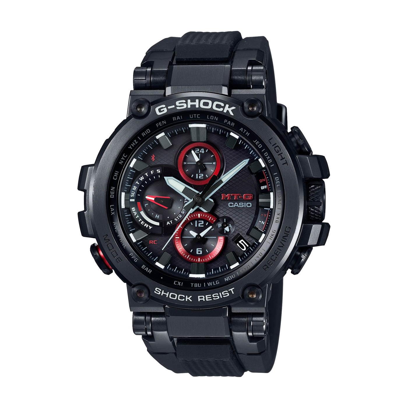 G-Shock MT-G Metal Twisted Bluetooth Solar horloge MTG-B1000B-1AER