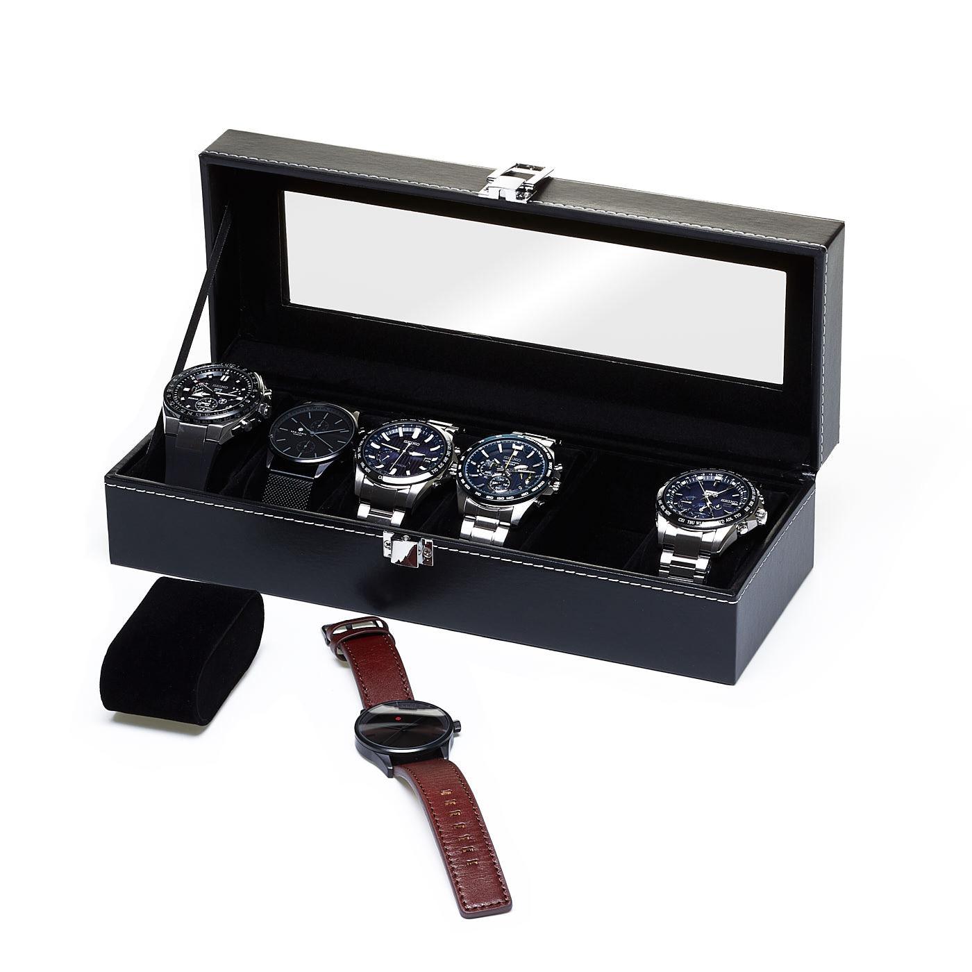 Caja de relojes para 6 relojes 818200382