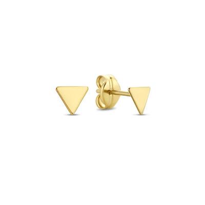 Isabel Bernard 14 Karaat Gouden Monceau Fleur Oorstekers IB010103