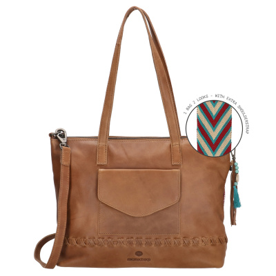 Micmacbags Friendship Brown Shopper 18661006