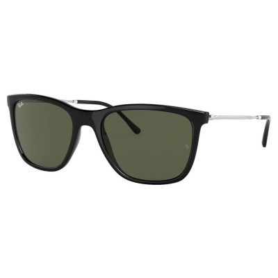 Ray-Ban Black Zonnebril RB4344191366