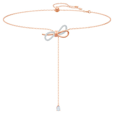Swarovski Lifelong Bow Ketting 5447082 (Lengte: 30.00-42.50 cm)