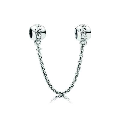 Pandora Zilveren Ketting Slot Bedel 791788