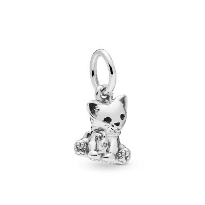 Pandora Moments 925 Sterling Zilveren Cat Bedel 798011EN16