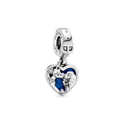 Pandora Moments 925 Sterling Zilveren Disney Lady and the Tramp Bedel 798634C01