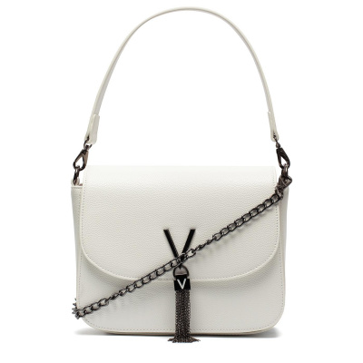 Valentino Bags Divina Bianco Schoudertas VBS1R404GBIANCO