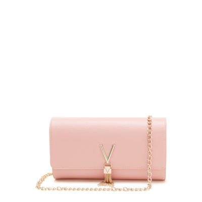 Valentino Bags Divina Rosa Clutch VBS1R401GROSA