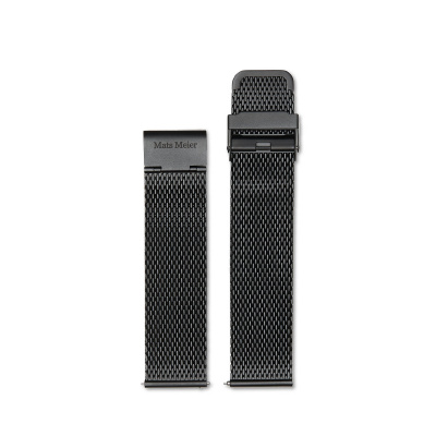 Mats Meier Strap 22 mm Mesh Black MM40006