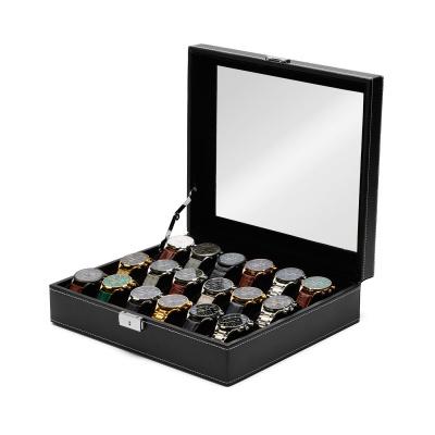 Mats Meier Mont Fort caja de reloj negra - 18 relojes