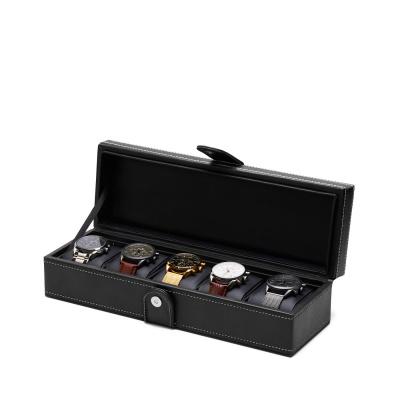 Mats Meier Mont Fort caja de reloj negra - 5 relojes