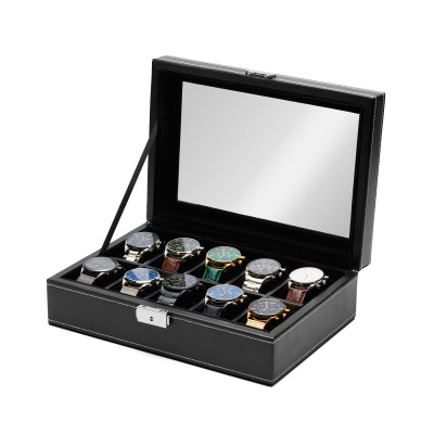 Mats Meier Mont Fort zwarte horlogebox voor 10 horloges