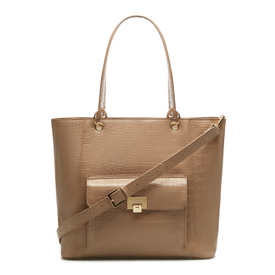 May Sparkle The Daily Nude Pink Croco Shopper MS25003