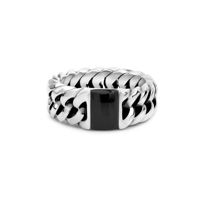 Buddha to Buddha 603ON Chain Stone Onyx Ring