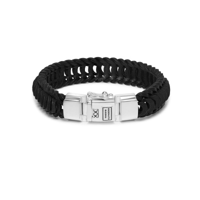 Buddha to Buddha Lars Leather Armband 122BL (Lengte: 19.00-23.00 cm)