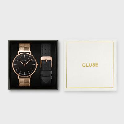 CLUSE Boho Chic horloge en Horlogeband Giftset CG10106