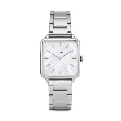 CLUSE La Tétragone Three Link horloge CL60025S
