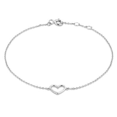 Isabel Bernard Saint Germain Alix 14 Karaat Wit Gouden Armband IB320052