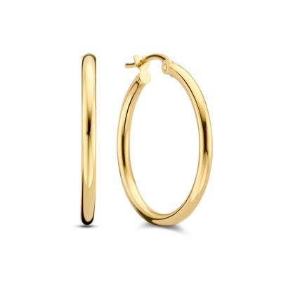 Isabel Bernard Rivoli Estelle 14 Karaat Gouden Creolen IB360103