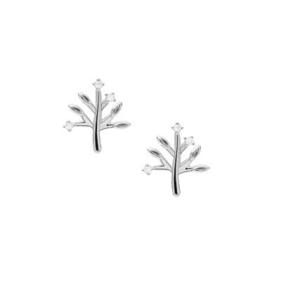 Fossil Sterling Dames Oorbellen van Sterling Silver JFS00548040