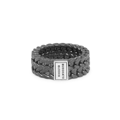 Buddha to Buddha Black Rhodium Heritage Julius Ring 193BRS