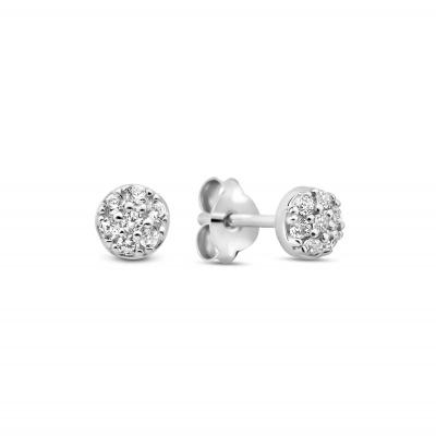 Selected Jewels Mila Elodie 925 Sterling Zilveren Oorknoppen SJ360050