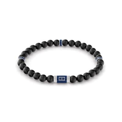 Tommy Hilfiger Zwarte Armband TJ2790323 (Lengte: 21.00 cm)