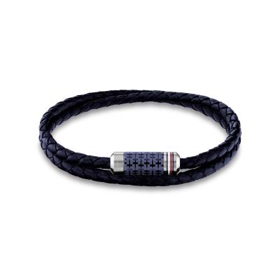 Tommy Hilfiger Blauwe Armband TJ2790326 (Lengte: 21.00 cm)