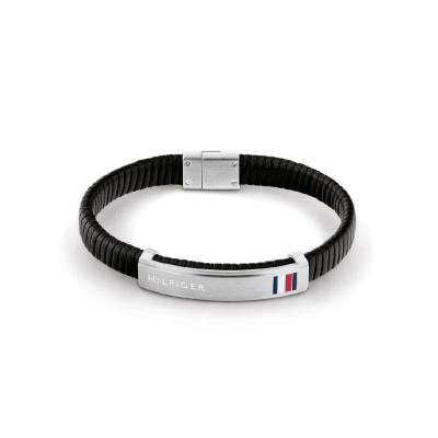Tommy Hilfiger Zwarte Armband TJ2790349 (Lengte: 21.00 cm)