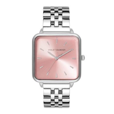 Violet Hamden The Dawn Zilver -en Rosegoudkleurig horloge VH03002