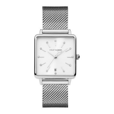 Violet Hamden Dawn Zilverkleurig/Wit horloge (34 mm) VH09011