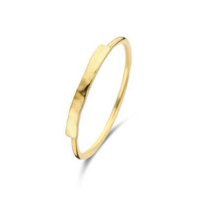 Violet Hamden Sisterhood Moonscape 925 Sterling Zilveren Goudkleurige Ring VH13029G